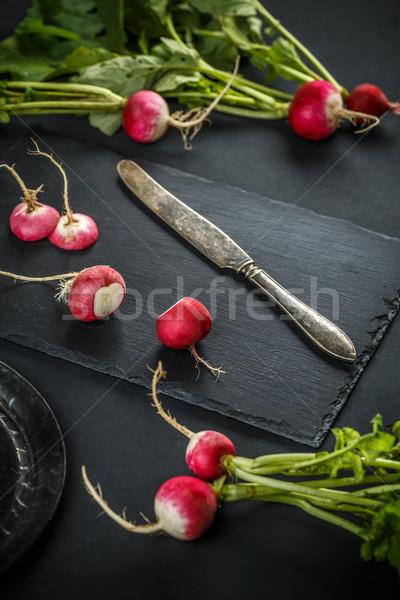 新鮮な 生 健康食品 野菜 背景 ストックフォト © grafvision