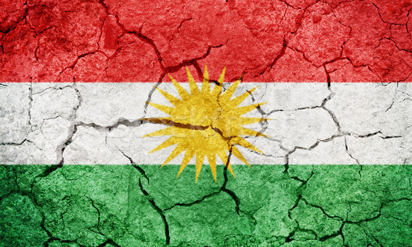 Region banderą wyschnięcia ziemi ziemi tekstury Zdjęcia stock © grafvision
