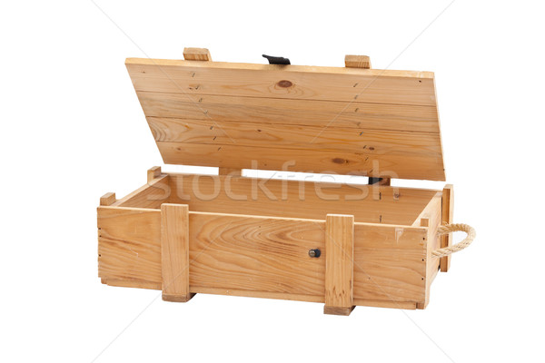 Wooden box Stock photo © grafvision