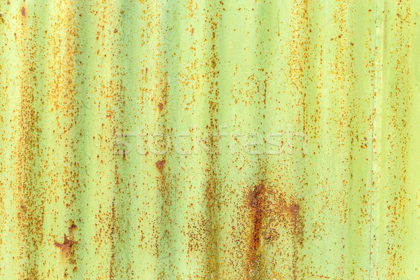 Corroded green metal background Stock photo © grafvision
