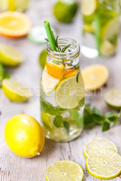 Healthy detox concept Stock photo © grafvision