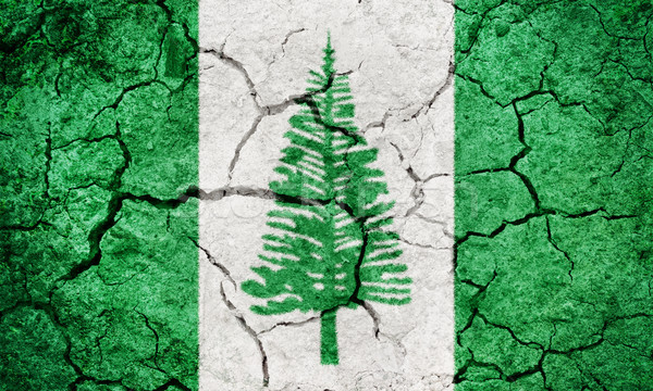 Territory of Norfolk Island flag Stock photo © grafvision