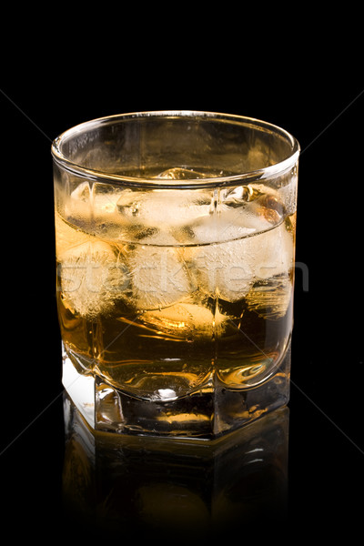 Whiskey in glass Stock photo © grafvision
