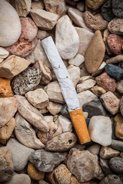 Dropped cigarette  Stock photo © grafvision