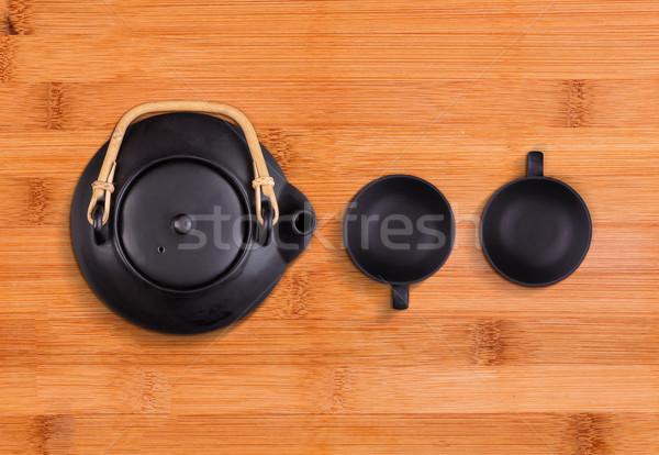Chinese tea set Stock photo © grafvision
