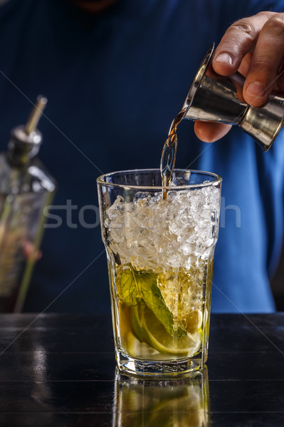 Strong alcoholic drink Stock photo © grafvision
