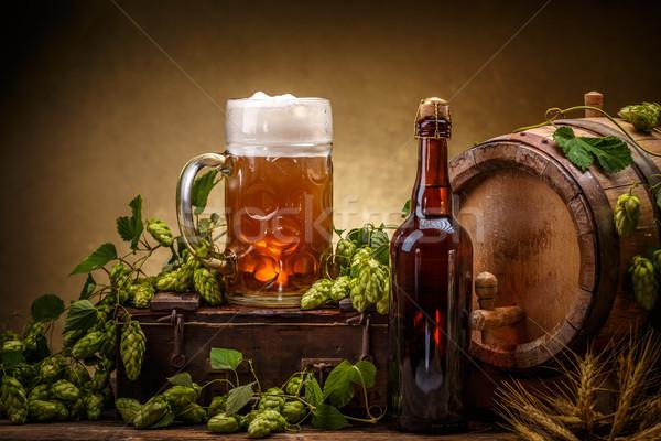 Keg of beer Stock photo © grafvision