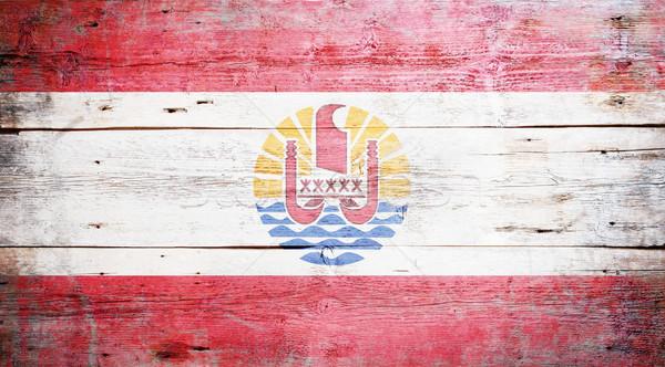 Flag of French Polynesia Stock photo © grafvision