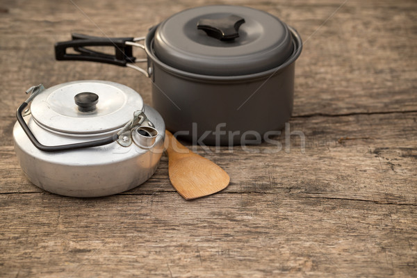 Outdoors pot Stock photo © grafvision