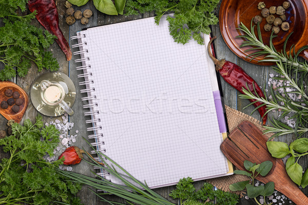 Fresh herbs Stock photo © grafvision