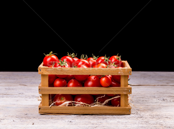 Crates of tomatoes Stock photo © grafvision