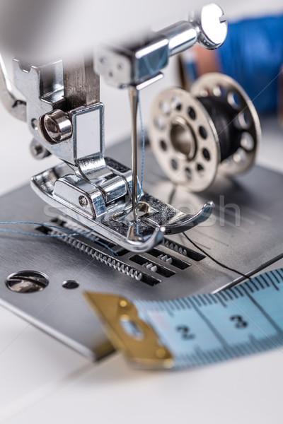 Maszyny do szycia igły stóp pracy narzędzie Zdjęcia stock © grafvision