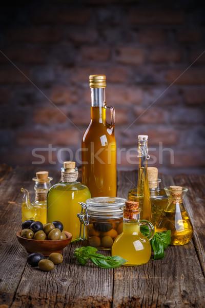 Still life of olives Stock photo © grafvision