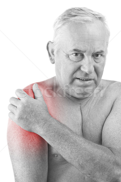 man with pain Stock photo © grafvision