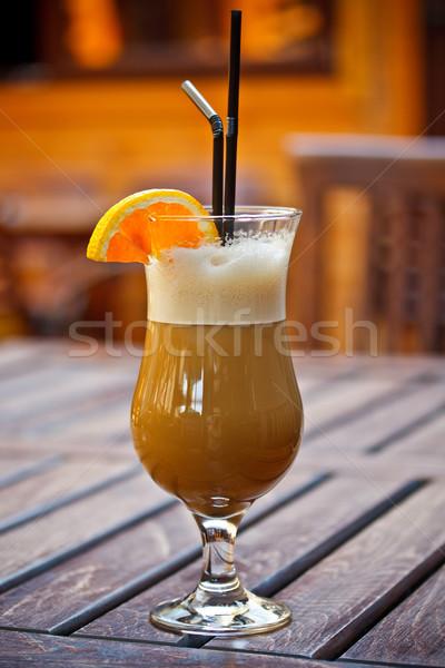 Ice coffee Stock photo © grafvision