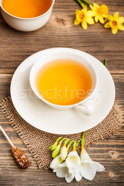 Stock photo: Cup of tea
