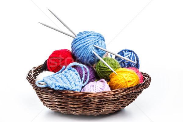 Colorful yarn Stock photo © grafvision