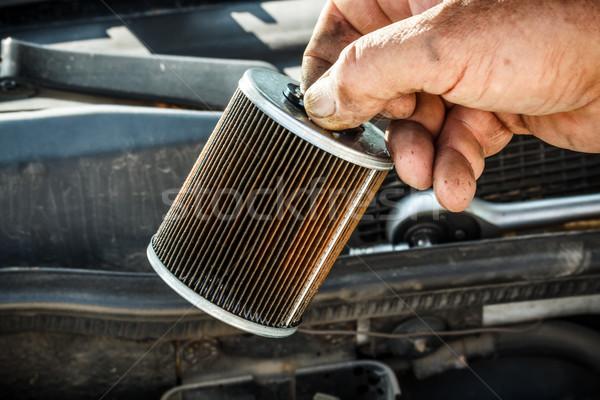 Fuel filter Stock photo © grafvision