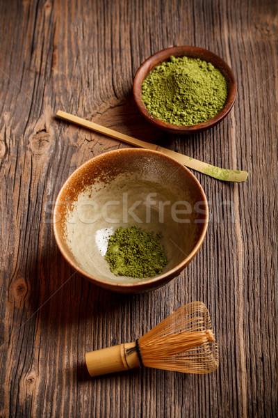 Японский чай церемония старые Vintage Сток-фото © grafvision