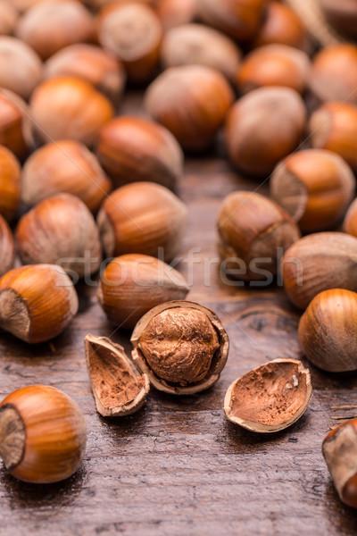 Hazelnuts Stock photo © grafvision