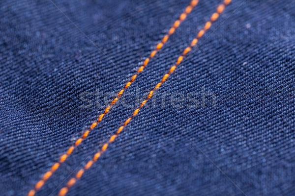 Blue jeans denim texture Stock photo © grafvision