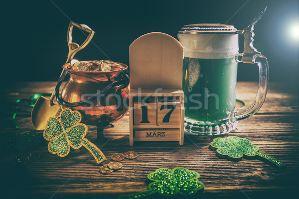 St. Patricks Day decoations Stock photo © grafvision