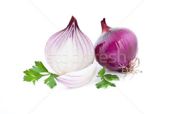 red onion Stock photo © grafvision