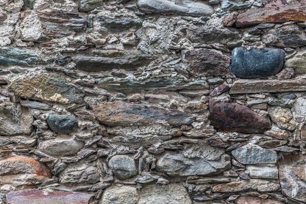 Taş duvar doku duvar arka plan taş mimari Stok fotoğraf © grafvision