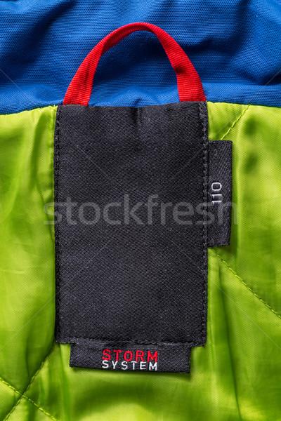 Kid coat label Stock photo © grafvision