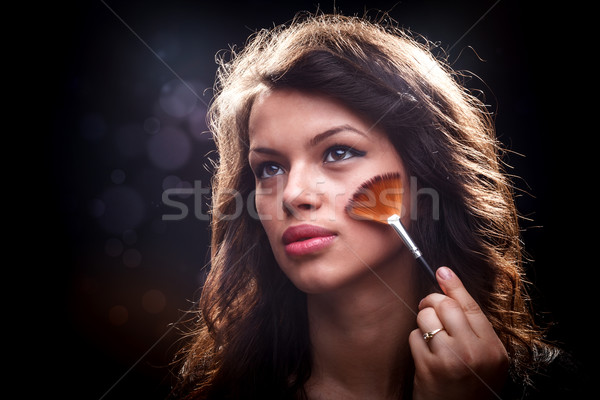 Stock photo: Young woman