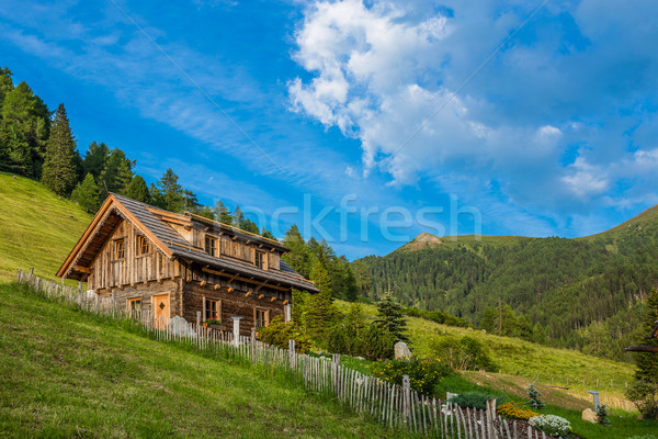 Old wooden hut cabin Stock photo © grafvision