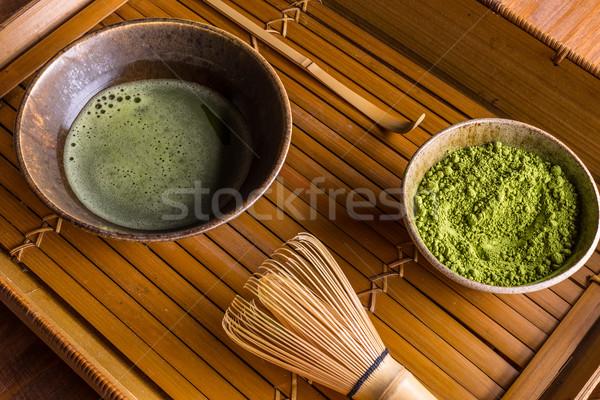 Matcha tea Stock photo © grafvision