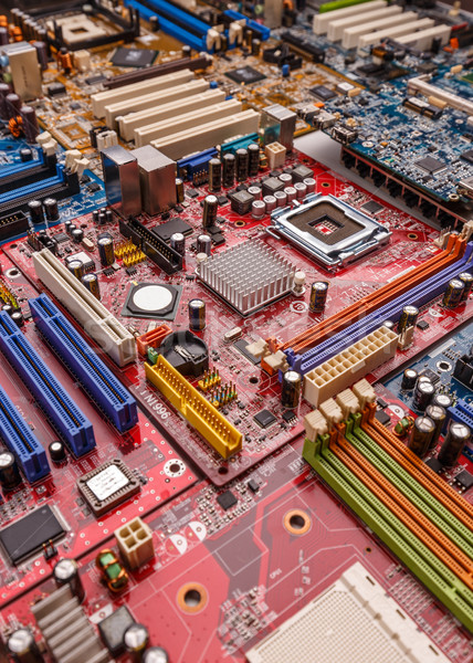 Electronic printed circuit board Stock photo © grafvision