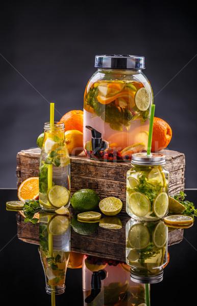 柑橘類 レモネード 水 レモン 赤 ストックフォト © grafvision