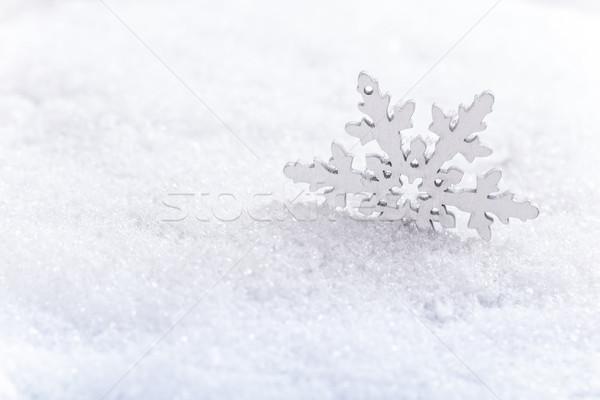 Winter snow background Stock photo © grafvision