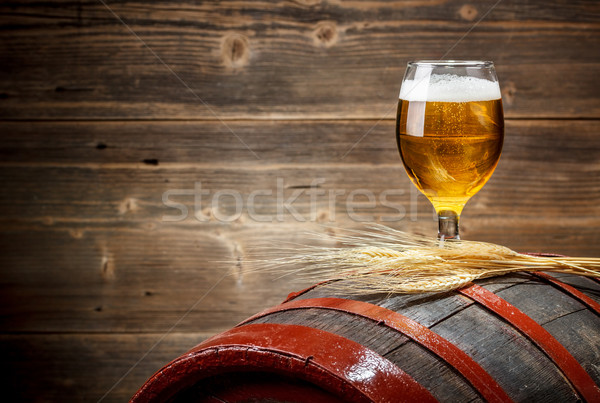Glass of beer Stock photo © grafvision