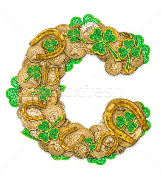 St. Patricks Day holiday letter C  Stock photo © grafvision