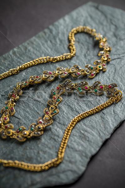 Female necklace Stock photo © grafvision