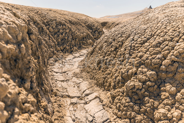 Soil erosion background Stock photo © grafvision