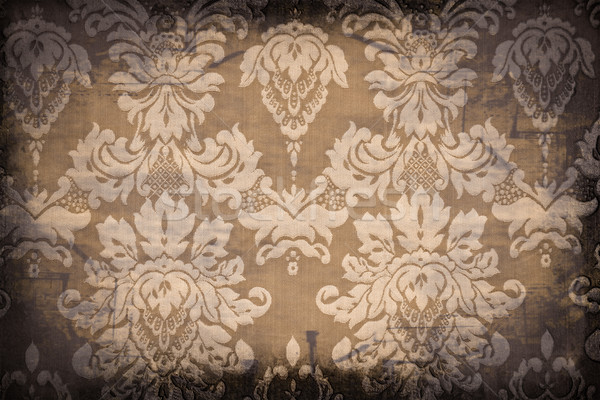 Vintage patrones sucio papel pintado antiguo papel textura Foto stock © grafvision