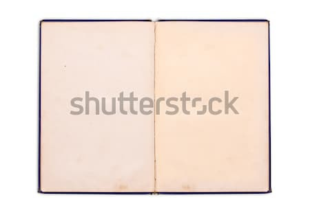 Old notebook Stock photo © grafvision