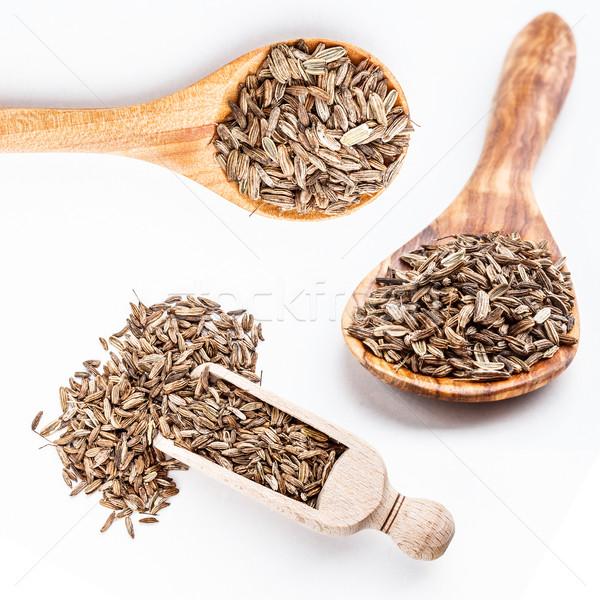 Koper nasion biały grupy gotowania Zdjęcia stock © grafvision
