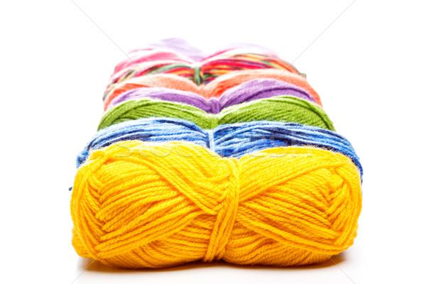 Knitting yarn Stock photo © grafvision