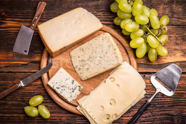 Cheese platter Stock photo © grafvision