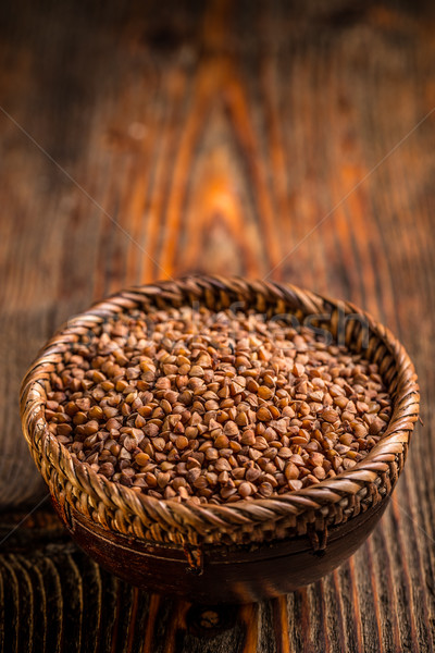 Buckwheat groats Stock photo © grafvision