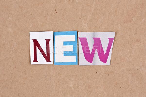 New Stock photo © grafvision