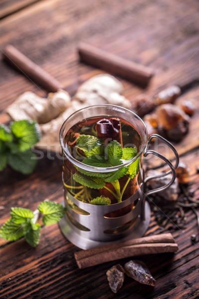 Mint tea Stock photo © grafvision