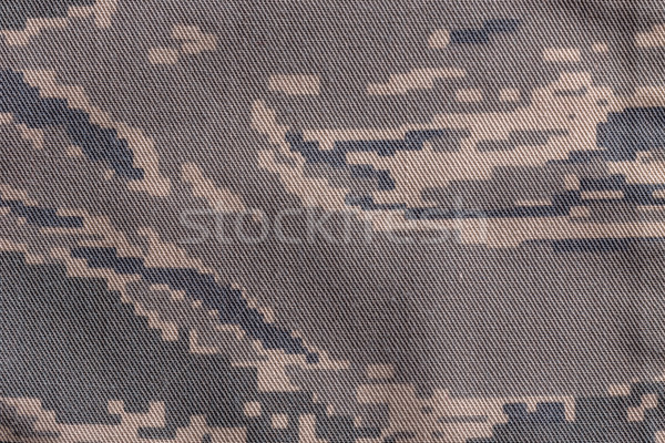 Digital camouflage fabric Stock photo © grafvision
