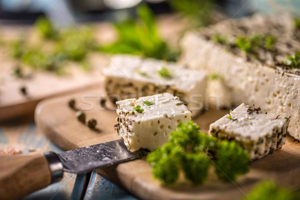 Peterselie bladeren specerijen achtergrond koken Stockfoto © grafvision