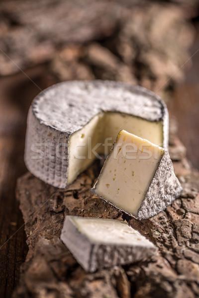 Queijo camembert queijo casca comida Foto stock © grafvision